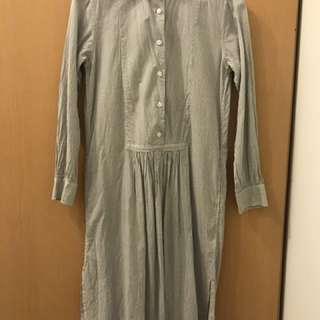 Uniqlo  INES DE LA FRESSANGE 襯衫洋裝