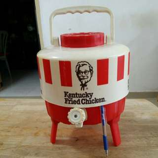 Vintage kfc water container