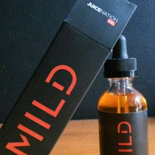 E-Liquid for vape MILD - berry bacco 60ml/6mg