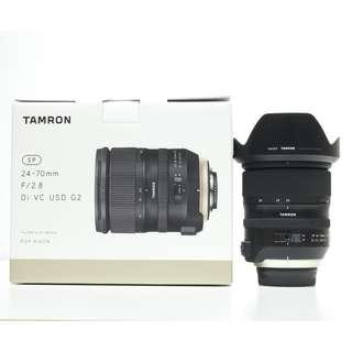 Tamron SP 24-70mm f2.8 DI VC USD G2 (Nikon) (3 Years Tamron Warranty)