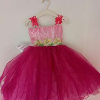Baby ball gown