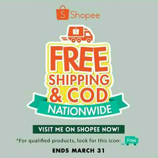 FREE SHIPPING @ Shopee