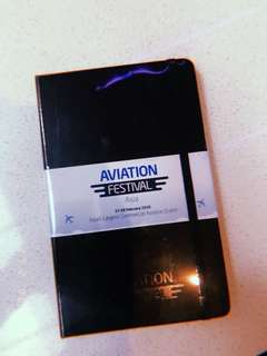 Moleskine Notebook (Aviation Festival Limited Edition)