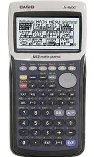 Casio Graphic Calculator fx-9860 model