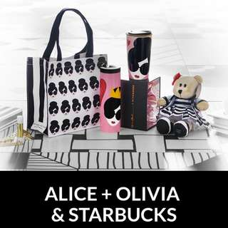 Starbucks Alice+Olivia Collection