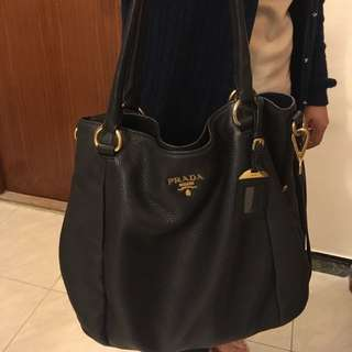 Prada 3-ways carry handbag