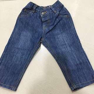 Denim Long Pants 6-12 Month