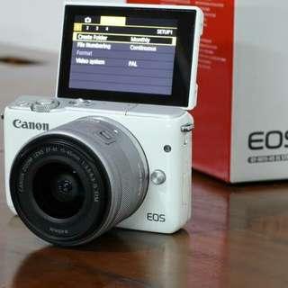 Camera Mirrorles Canon Eos M10 Bisa Kredit 3 Menit Cair