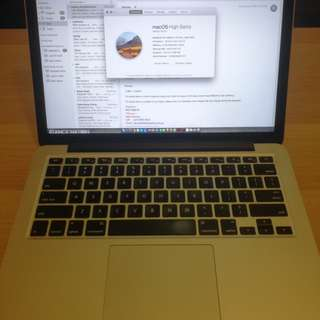 Sell Macbook Pro Retina 13""