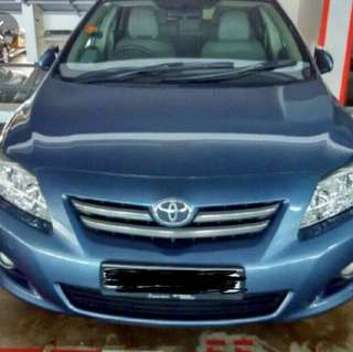 Altis 1.6 for rent