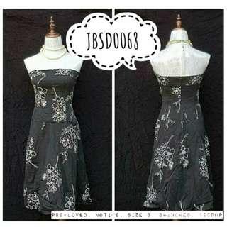 Floral black tube dress sale!!!  120php.