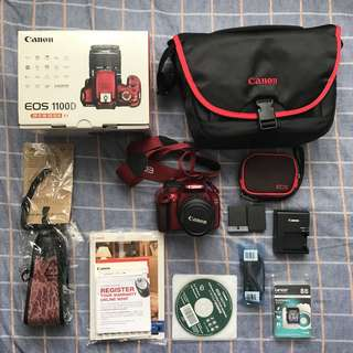 Canon EOS 1100D EF-S 18-55 IS II Kit (Great Condition)