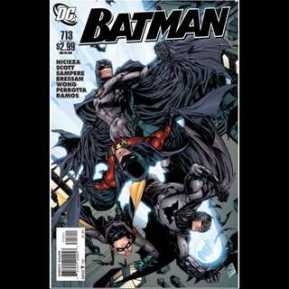 BATMAN #713 (2011) Last issue! before DC New 52