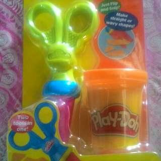 Play-Doh with fun cutting tool