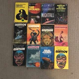 Isaac Asimov books collection