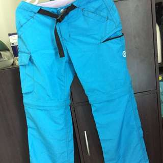 Women's Convertible Trekking Pants (Quick Dry)