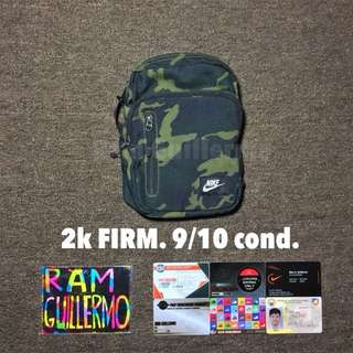 Nike Green Camouflage Slig Bag