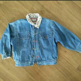 Denim Jacket for 6 years old