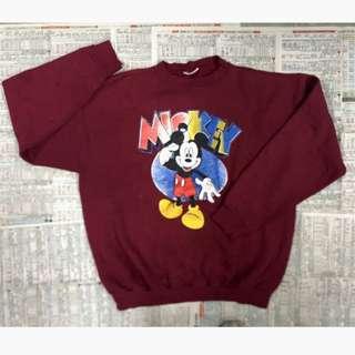 Mickey 米奇 古著 衛衣