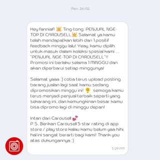 Thanks Carousell 🌸🎉 #6