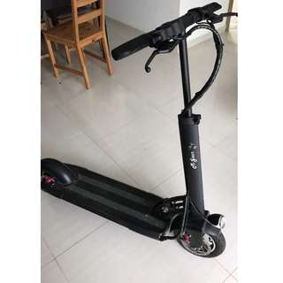 Electric scooter (great condition, reduced price because it needs a new battery)
