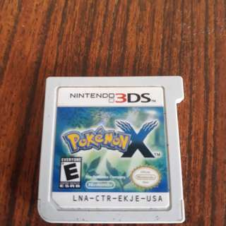 3ds/2ds pokemon x