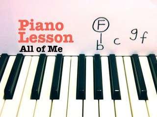 Looking Piano Teacher