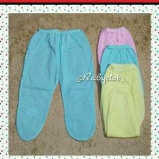 Celana panjang bayi Kaki tutup 6pcs