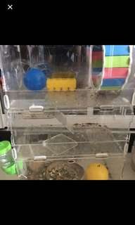 Hamster cage for sale 3 storey