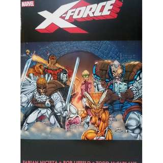 Used Marvel Omnibus X-Force Vol 1 Universe Legends Select Comics (NEAREST MRT)