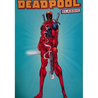 Used Marvel TPB Deadpool Classic Vol 1 Universe Legends Comics (NEAREST MRT)