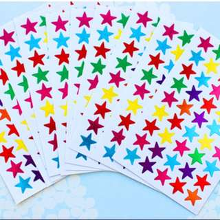 BN Shimmering Reward/Activity/Teacher's Day/Children's Day Stickers (10 sticker sheets)