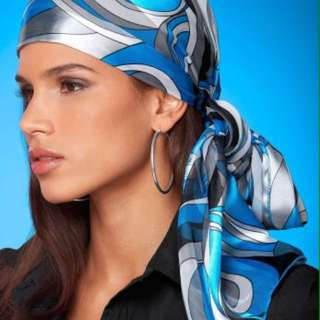 Summer Chic in Pucci inspired headscarves
