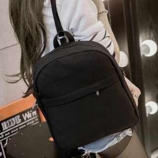 Ladies Black Bagpack