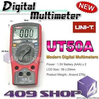1 x UT-50A數字萬用表