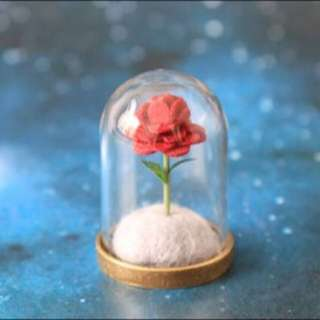 🚚 「預購」小王子的玫瑰花 材料包 手作 Diy 羊毛氈