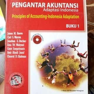 Buku pengantar akuntansi + CD