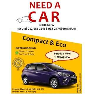 Sewa/Car Rental - Longer You RENT, Cheaper You GET!!