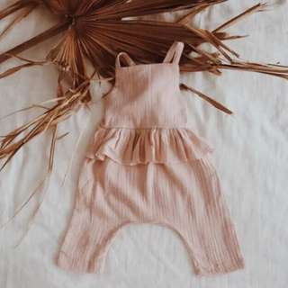 MIA - Linen Overalls