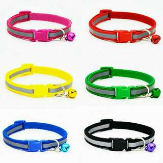 Nylon Reflective Pet Dog Collar Necklace For Dog Supplies