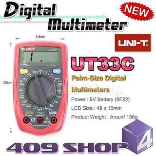 1 x Uni-T UT33C掌上數字萬用表