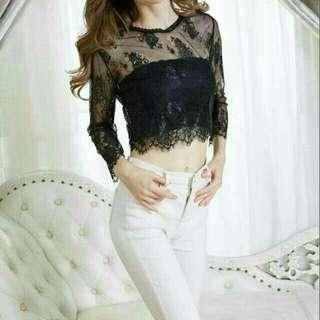 Jaybe shop - Share top lace brukat T8755