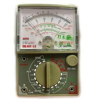 指針式萬用表萬能表便攜手持式