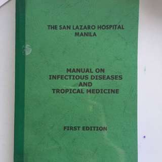manual on infectious diseases and tropical medicine
