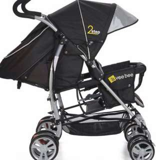 Stroller for Two (Veebee 2 step in-line stroller)
