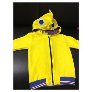 Used Once Rooster Design Hoody Jacket