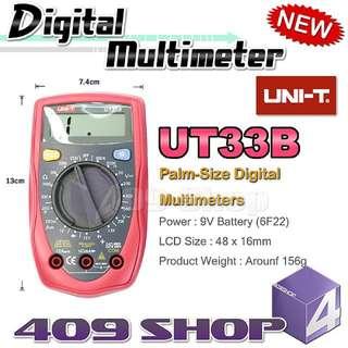 1 x Uni-T UT-33B掌上數字萬用表