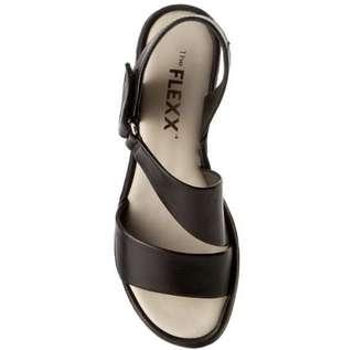 The FLEXX Ultra Comfortable Wedge Heel Leather Sandals