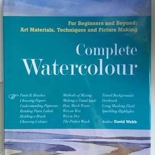 complete watercolor book