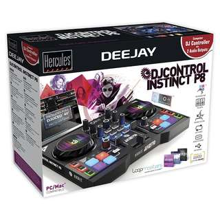 (SALE!) Hercules Instinct P8 ultra-mobile USB DJ Controller (TODAY ONLY!)